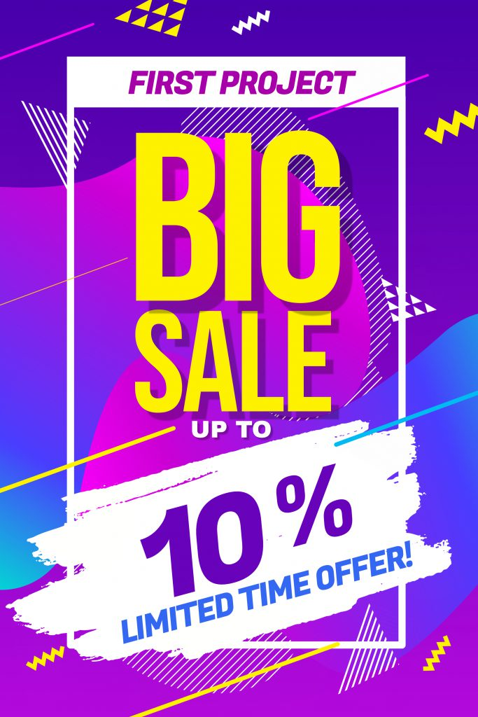 Big Sale Discount Promotion Poster 1
