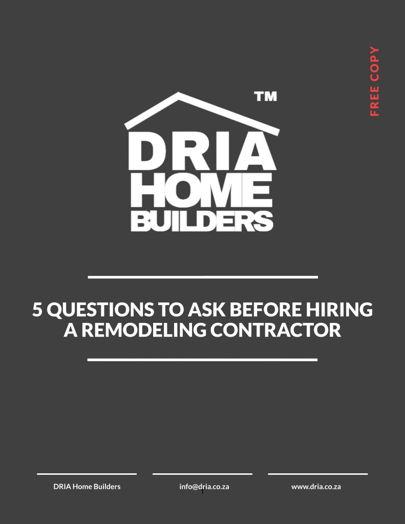 5 Questions To Ask Before Hiring A Remodeling Contractor