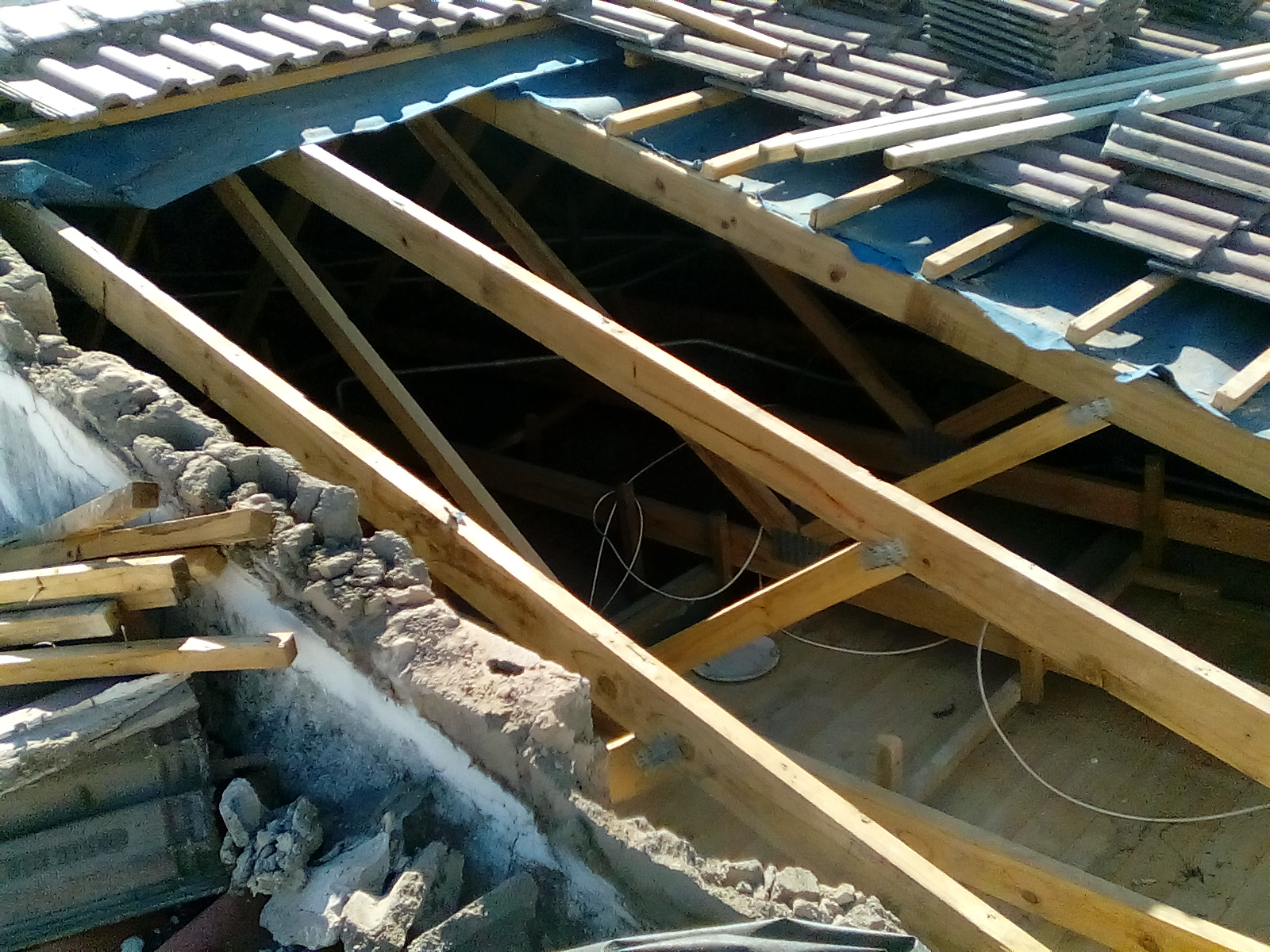 roofing project underlay batten replacement 5